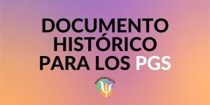 Documento, psicología, sanitaria, historia, PGS
