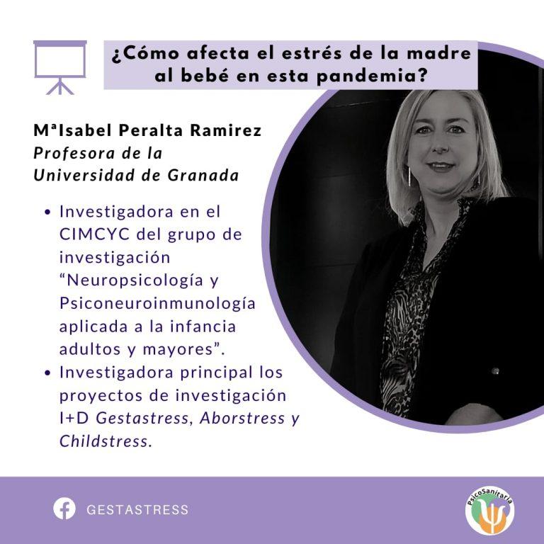 3. MªIsabel Peralta - Cómo afecta el estres de la madre al bebé en la pandemia