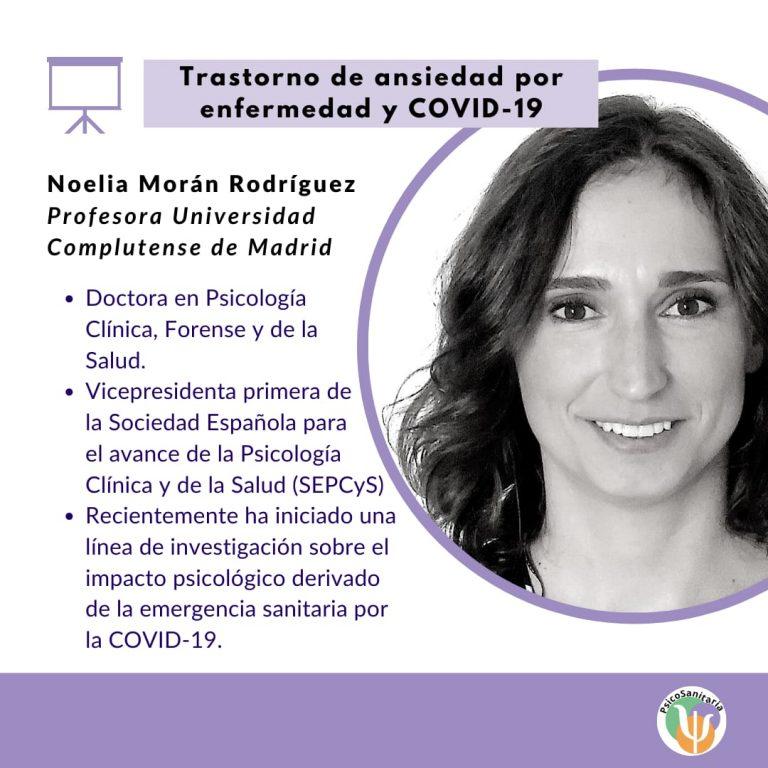 3. Noelia Moran - Trastorno de ansiedad por enfermedad y covid-19